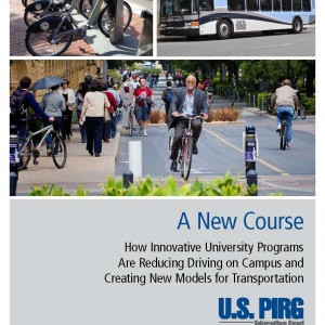 "Cover of ""New Course"" report by US PIRG"