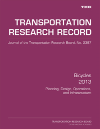 Bicycles 2013: Planning, Design, Operations, and Infrastructure
