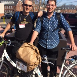 Tim and Aaron Goldbeck, UMD. (photo by unknown person - sorry!)