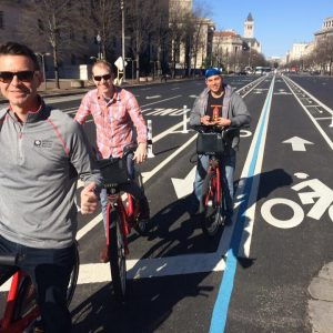 Riding around Wash. DC with some engineering consultants from TN (I think) w/ Brandon Alvarado from San Jose St. Univ.
